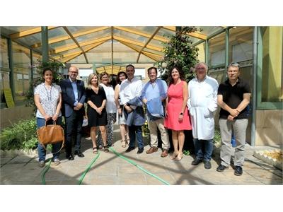 Cabañero y García Alcaraz visitan la UME y la Residencia San Vicente de Paúl subrayando el compromiso de la Diputación con la atención a las personas