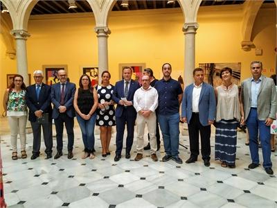 El Centro Cultural la Asunción acoge una muestra expositiva que aglutina obras de más de 50 creadores de la provincia