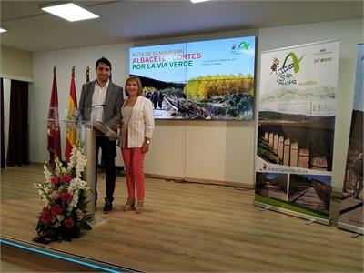 La Diputación presenta la Ruta de Senderismo que irá de Albacete a Cortes por la Vía Verde de la Sierra de Alcaraz