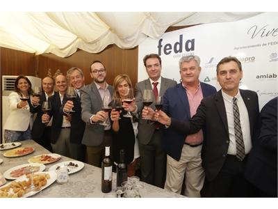 Fran Valera destaca que buena parte del éxito de la Feria de Albacete se debe al esfuerzo y las iniciativas del tejido empresarial de Albacete