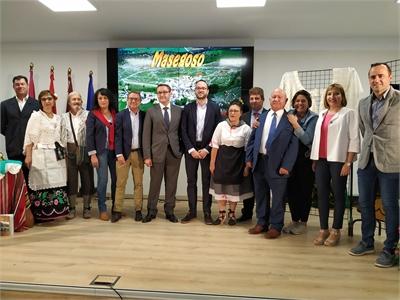 Masegoso, el pequeño gran pueblo que conquista en el stand de la Diputación de Albacete