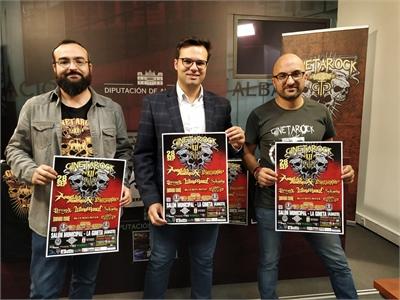 El diputado de Cultura se felicita porque el género musical del rock tenga cada vez mayor presencia en la programación cultural de la provincia