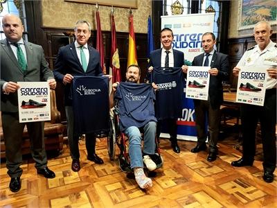 La Diputación Provincial se suma a la 7ª Carrera Solidaria que Eurocaja Rural, la Policía Nacional y Tello Alimentación 'estrenan' en Albacete
