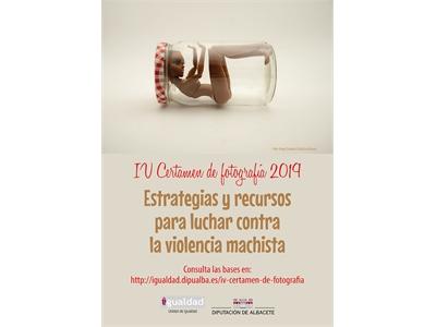 La Diputación convoca el IV certamen fotográfico Estrategias y recursos para luchar contra la violencia machista