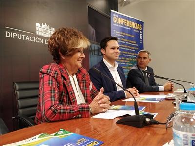 Aluex abrirá su exitoso ciclo de conferencias el próximo lunes en el Salón de Actos de la Diputación provincial