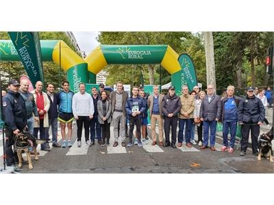 La Diputación corre en la carrera solidaria a beneficio de Asprona y Cruz Roja