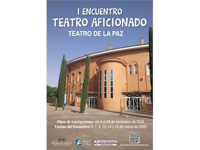 Abierto el plazo de inscripción para el I Encuentro de Teatro Aficionado Diputación de Albacete