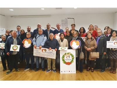 Francisco Valera, en Almansa, remarca el apoyo de la Diputación al comercio local en el marco de las campañas de Navidad