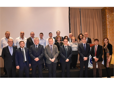 Cabañero anuncia, en un acto de homenaje de APETREVA, que la Diputación se va a sumar a la 'Plataforma por la Legalidad' puesta en marcha por FEDA