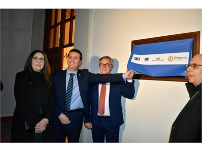 Santiago Cabañero valora la importancia de la recuperación del patrimonio histórico local y su apertura al conjunto de la ciudadanía