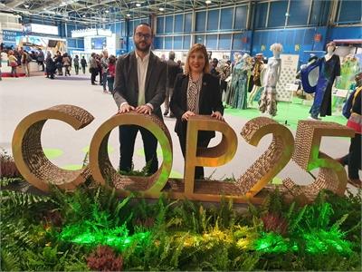 La Diputación Provincial de Albacete, presente en la COP25 en la figura de sus vicepresidentes