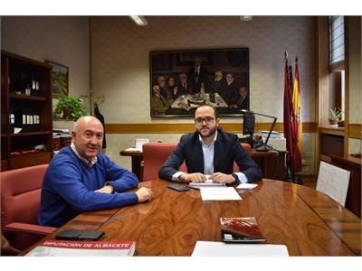 La Diputación muestra su apoyo al Festival de Teatro Clásico de Chinchilla con motivo de su 25 aniversario