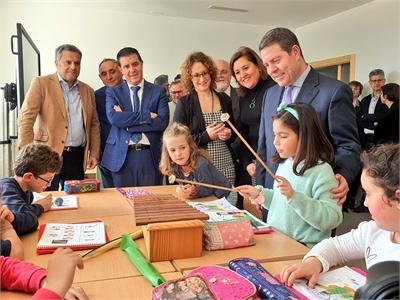 Cabañero subraya la apuesta por la igualdad de oportunidades en la Educación como herramienta determinante en la lucha contra la despoblación