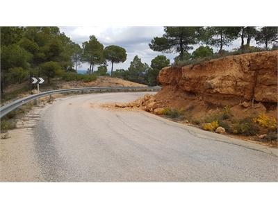 Los trabajos de conservación de carreteras provinciales continúan durante el Estado de Alarma
