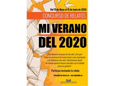La Diputación de Albacete convoca 'Mi verano del 2020', un concurso de relatos dirigido a jóvenes de entre 9 y 18 años