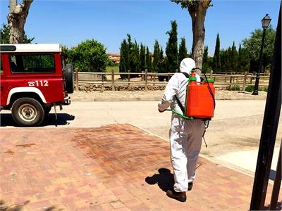 Unas 30 localidades han recibido esta semana la ayuda de Diputación para desinfectar los espacios destinados a mercadillos tras su celebración