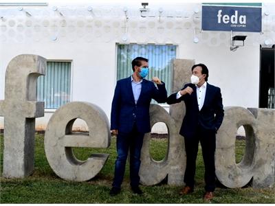 Diputación y Confederación de Empresarios de Albacete, 'Codo con codo' con los sectores estratégicos de la provincia