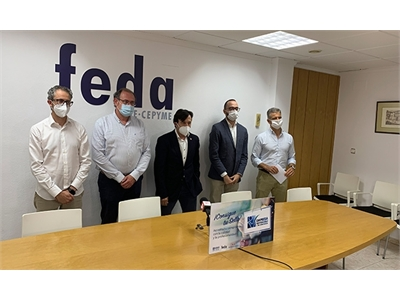 Fran Valera destaca la importancia de aunar esfuerzos para impulsar al tejido empresarial de una provincia puntera como es la de Albacete