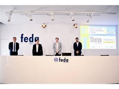 Santi Cabañero anima a quienes se plantean emprender a participar en la VIII edición del Sherpa de FEDA, impulsado junto a la Diputación