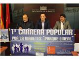 I Carrera Popular del Parque Lineal por la Diabetes, el próximo día 8 de noviembre, a las 16,30 horas