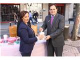 El presidente de la Diputación, Francisco Núñez, destaca la labor social de AMAC en vísperas del Día Mundial contra el Cáncer de Mama