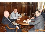 Francisco Núñez valora un nuevo convenio con el Obispado para obras de conservación del patrimonio religioso en la provincia