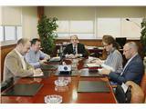 El director del Área de Desarrollo Local de la Diputación de Huelva visita las instalaciones del ITAP