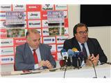 Diputación y la Fundación del Albacete Balompié firman el convenio de colaboración 'El Alba con sus pueblos'