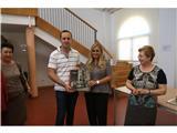 La escritora Lola Beccaria estuvo en Valdeganga dentro del programa 'Encuentros con…' de la Diputación
