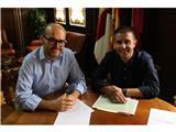 Primer encuentro entre el presidente de la Diputación y el alcalde de Pozo Cañada