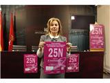 La Diputación organiza un acto institucional con motivo del Día Internacional de la Eliminación de la Violencia contra la Mujer