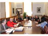 La UDP presenta en la Diputación su programa Contigo en Casa