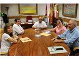 La nueva directiva del Colegio de Arquitectos presenta distintos proyectos de colaboración a la Diputación