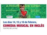 """""""A Midsummer Night´s Dream"""", espectáculo juvenil en inglés para escolares en el Teatro de la Paz"""