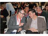 Cabañero felicita a Francisco de la Rosa por su trabajo y desea suerte a la nueva secretaria provincial de CC.OO.