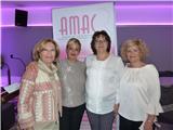 La Diputación traslada todo su apoyo y afecto a la asociación  AMAC en su cena benéfica