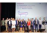 Santiago Cabañero asiste en Huesca al Congreso Nacional de Despoblación en el Medio Rural