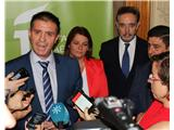 La Diputación reivindica en Jaén al Gobierno central calendario y presupuesto para la Autovía A-32  Linares-Albacete