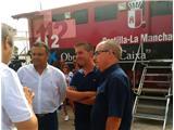 El presidente de la Diputación manifiesta su satisfacción trar lograrse perimetrar totalmente el incendio de Yeste