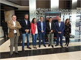 Cabañero felicita a la APEHT por su magnífico esfuerzo para albergar el Congreso Minimal de alta cocina en miniatura