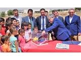 El presidente de la Diputación de Albacete visita Cenizate y Villamalea, acompañando al presidente de C-LM, presentando mejoras para ambos municipios