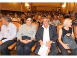 Luis Miguel Atiénzar invita a visitar la provincia a los asistentes al XVII Congreso Internacional de la Asociación por los Estudios del Neolatín