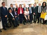 Cabañero agradece a los y las protagonistas de los XXI Premios Inclusión Social de AMIAB su trabajo en pro de una tierra más justa y solidaria