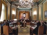 El Pleno de la Diputación solicita que  el tren de la línea Chinchilla-Cartagena pare en Hellín