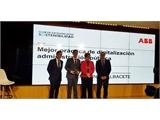 Cabañero recoge en Madrid el Premio a la Mejor Práctica de Digitalización en la Administración Pública en España concedido a la plataforma SEDIPUALB@