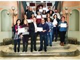 Cabañero agradece su implicación a los trabajadores y trabajadoras participantes del primer curso formativo del II Plan de Igualdad de Diputación