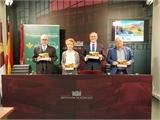 La sala de prensa de Diputación acoge la presentación de la programación Cultural de Primavera de Fuentealbilla, cita que comprende 21 espectáculos