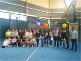53 parejas han participado en el II Torneo Femenino de Pádel de la Diputación de Albacete, actividad enmarcada en los actos con motivo del 8 de marzo