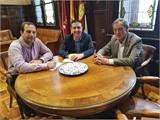 Santiago Cabañero y Lucio Gómez repasan la actividad de Asprona y miran al futuro con la colaboración como compromiso constante