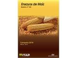 El ITAP publica su boletín número 100 dedicado a los resultados de los ensayos de maíz, campaña 2018